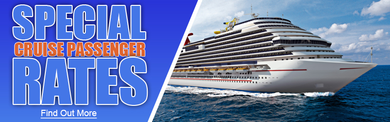 Special golfing rates for cruise passengers.